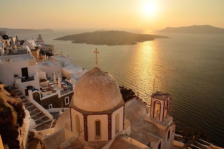 santorini-sunset tour
